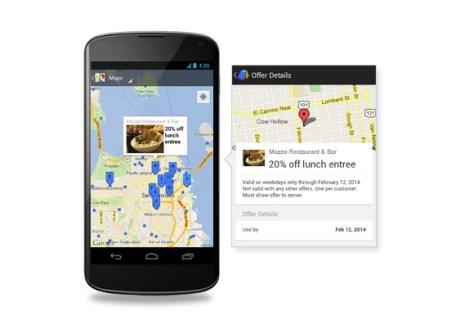 Google Offres est disponible en français