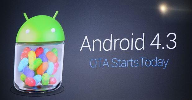 Android 4.3 : La mise à jour démarre maintenant sur la gamme Nexus