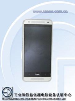 Le HTC One Mini 601e se montre auprès d'un organisme de certification chinois