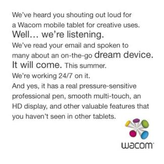 Wacom Cintiq 13HD : une tablette propulsée par du Tegra 4 ?