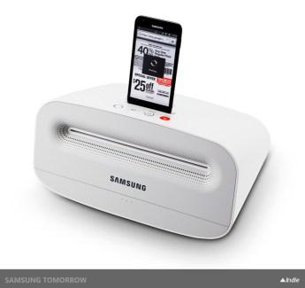 Samsung associe impression et musique !