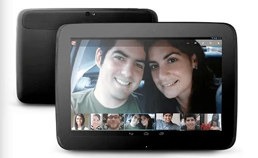 La Google Nexus 10 est disponible en Belgique !