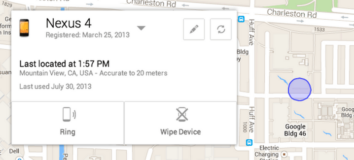 Google va lancer Android Device Manager, pour localiser et effacer son appareil à distance