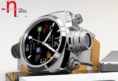 Hyetis Crossbow : une montre équipée d'un capteur 41 mégapixels