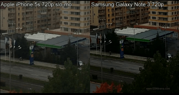 iPhone 5S et Galaxy Note 3 : Lequel des deux filme vraiment en slow-motion 720p ?
