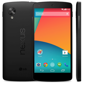 Le Google Nexus 5 dévoilé par accident sur le Play Store US