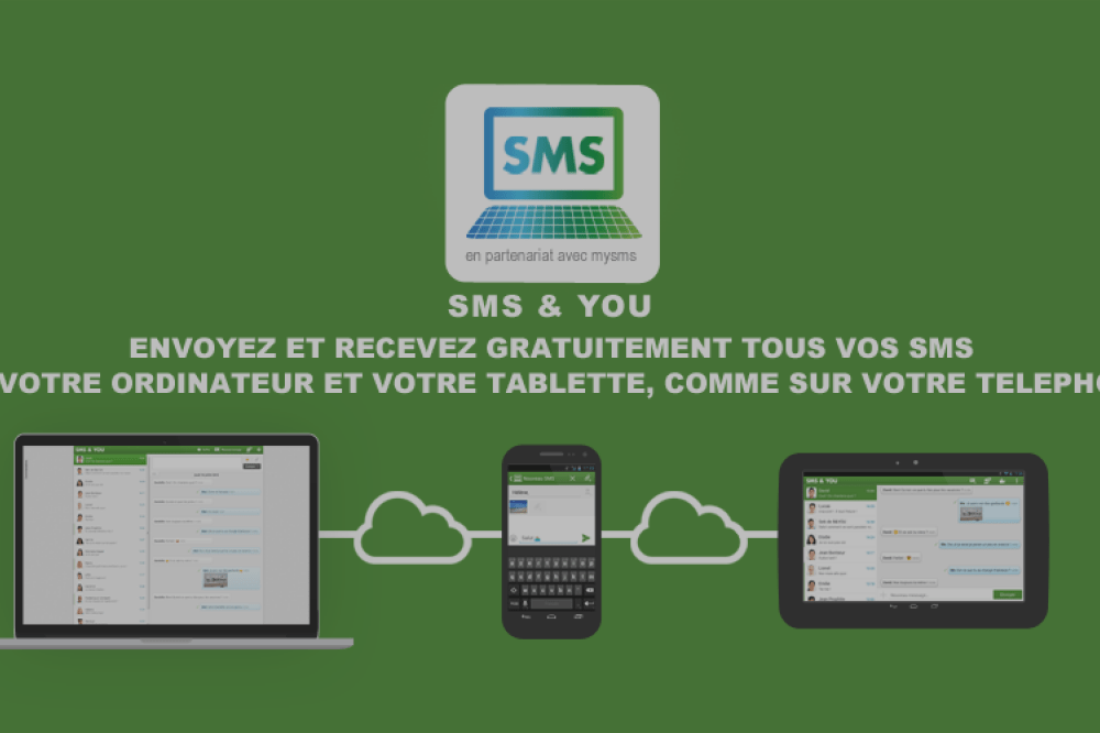Testez SMS & YOU de B&YOU, une application de synchronisation de SMS