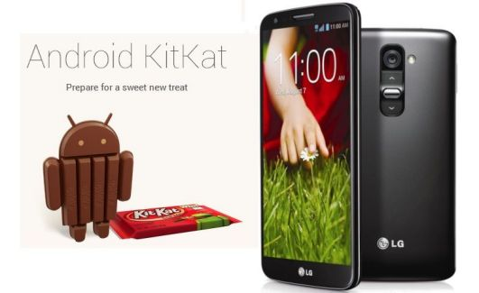 LG G2 : la bêta d'Android 4.4 KitKat aperçue en Chine