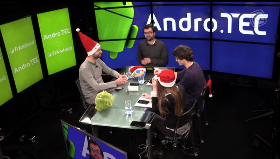 AndroTEC 004 : Android 4.4.2, Boston Dynamics, Moto G et un quizz de Noël !
