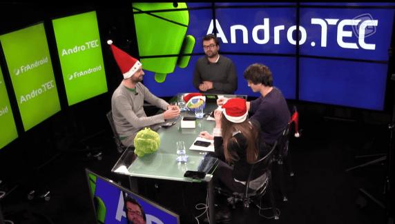 AndroTEC 004 : Android 4.4.2, Boston Dynamics, Moto G et un quizz de Noël !