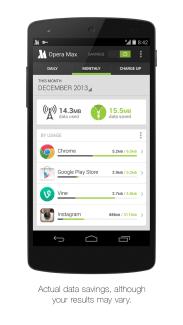 Opera Max compresse (presque) toutes les données qui lui passent sous la main