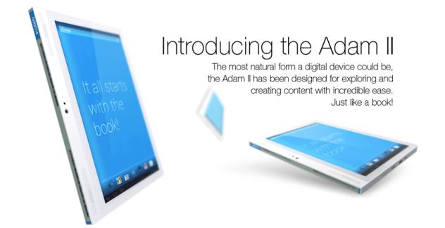 La tablette Notion Ink Adam 2 est disponible à la vente en Inde, toujours avec un écran latéral