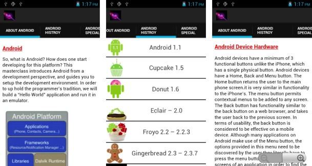 Google Android Info : une application pour tout savoir sur Android et ses versions
