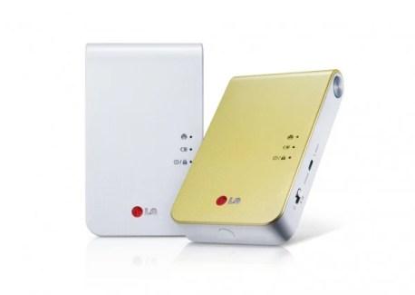 CES 2013 : LG Pocket Photo 2, l'imprimante portable pour Android, iOS et Windows Phone