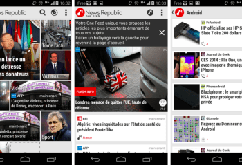 News Republic 4.0 se remet à neuf sur Android