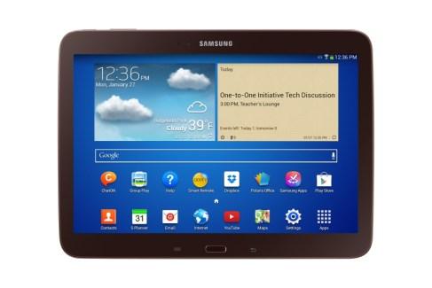 Une Samsung Galaxy Tab consacrée au secteur de l'éducation