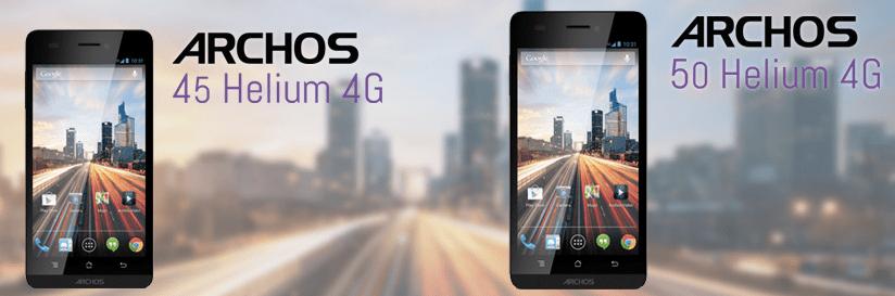 CES 2014 : Archos dévoile la gamme Helium, de l'Android en 4G à moins de 200 euros