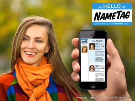 NameTag, l'application de reconnaissance faciale