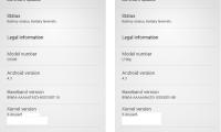 Fuite de la ROM d'Android 4.3 Jelly Bean sur Xperia SP et Xperia T