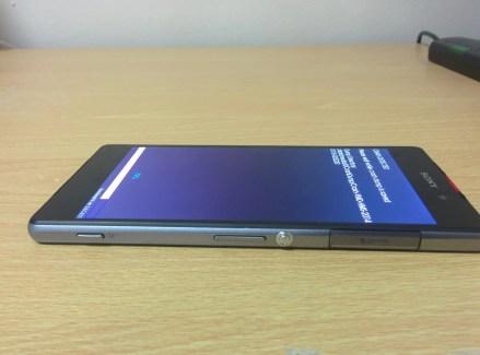 Le Sony Xperia Z2 «Sirius» montre ses bordures d'écran affinées