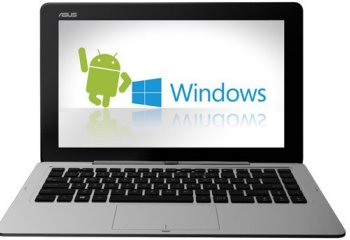 L'Asus Transformer Book Duet passe d'Android 4.1 à Windows 8.1 en quatre secondes