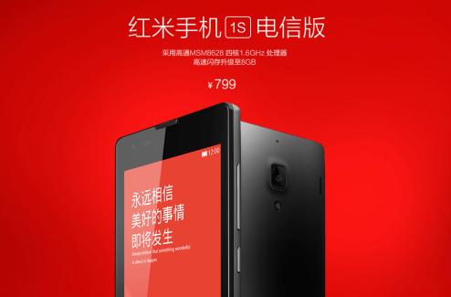 Le prochain Red Rice de Xiaomi porte le nom de Hongmi 1S