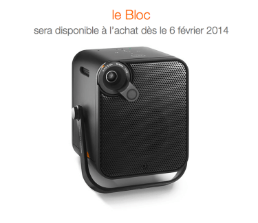 Le Bloc d'Orange, le cube multimédia qui projette de la HQ
