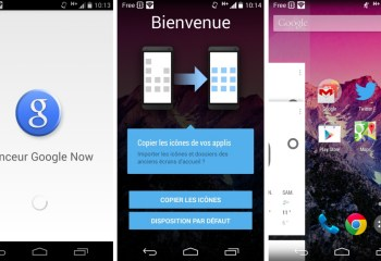 Google Experience Launcher devient Google Now Launcher