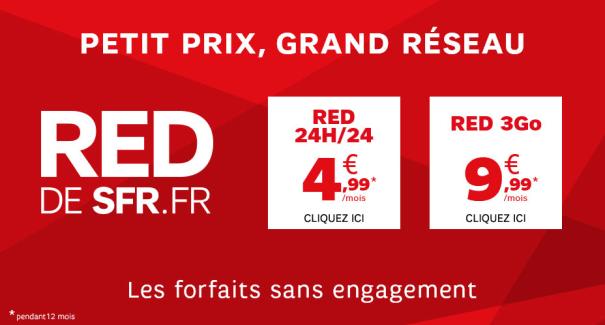 Bon plan : un an de SFR RED à moitié prix