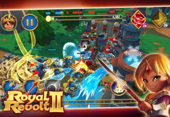 Royal Revolt 2 : le Tower Defense inversé revient avec un second opus sur Android