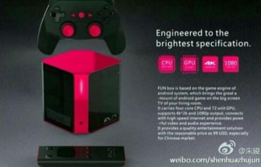 ZTE Fun Box : une console sous Android en préparation