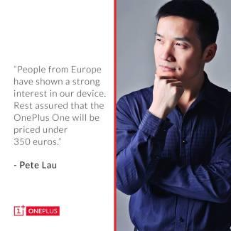 C'est officiel, «le OnePlus One coûtera moins de 350 euros» !