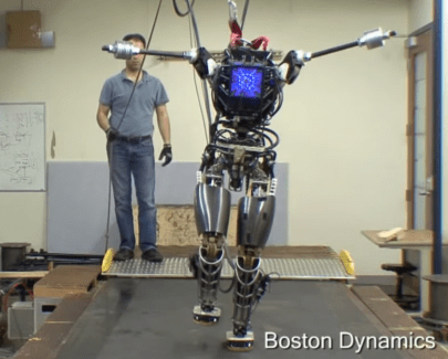 Le robot Atlas de Boston Dynamics est en route vers l'autonomie