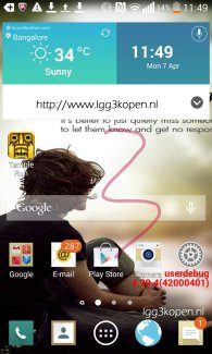 LG G3 : une interface « flat » en préparation ?