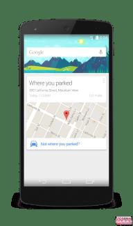 Google Now permettra de retrouver votre place de parking : avis aux distraits !