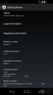Android 4.4.3 s'invite sur les Nexus 5 de Sprint