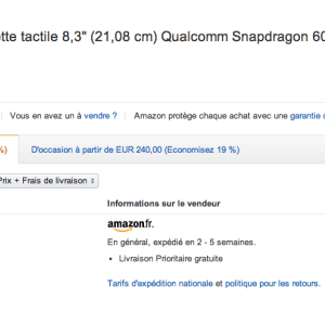 Bon plan : LG G Pad 8.3 à 160 euros sur Amazon