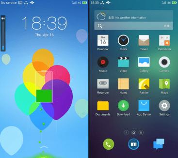 L'interface Flyme OS de Meizu portée sur le Nexus 5