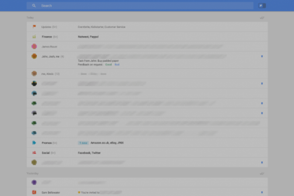 Gmail : des captures d'écran de la future interface ?