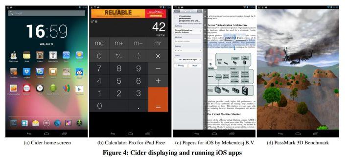 Faire tourner des applications iOS sur un appareil Android ? C'est possible grâce à Cider