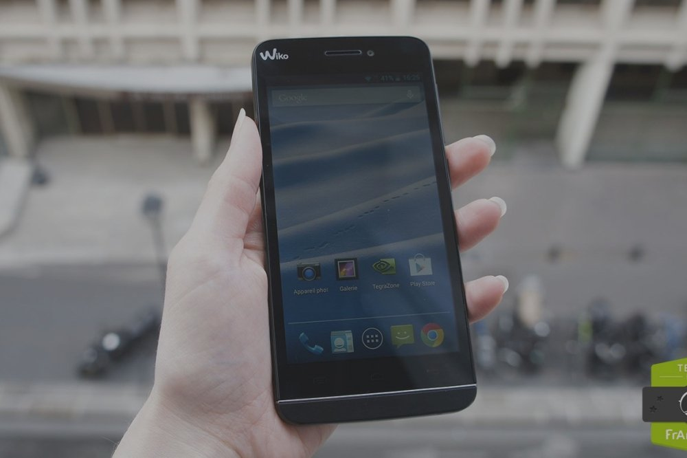 Test du Wiko Wax