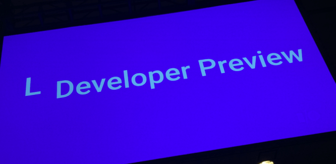 Aperçu d'Android L, dans sa version « Developer Preview »