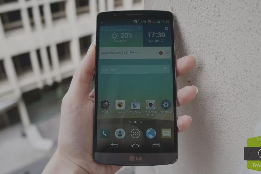 Test du LG G3
