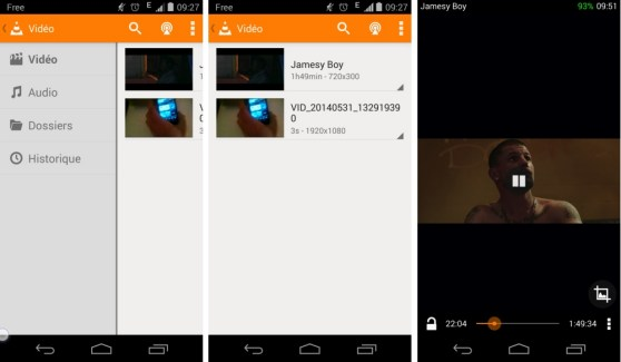 VLC for Android Beta passe au flat sur Android