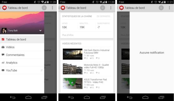 Google lance YouTube Creator Studio pour la gestion de chaînes YouTube