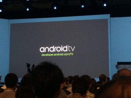 Google I/O : Android TV s'invite dans les salons