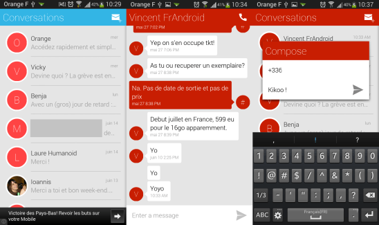 QKSMS : une application SMS simple et personnalisable