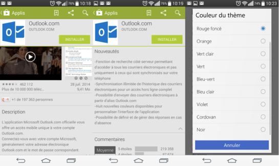 Microsoft met à jour Outlook.com : la consultation hors ligne fait son entrée sur Android