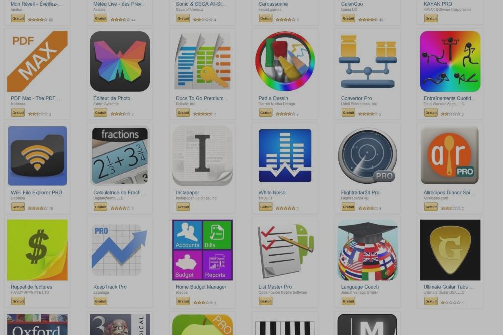 Amazon offre 100 euros d'applications sur son App-shop
