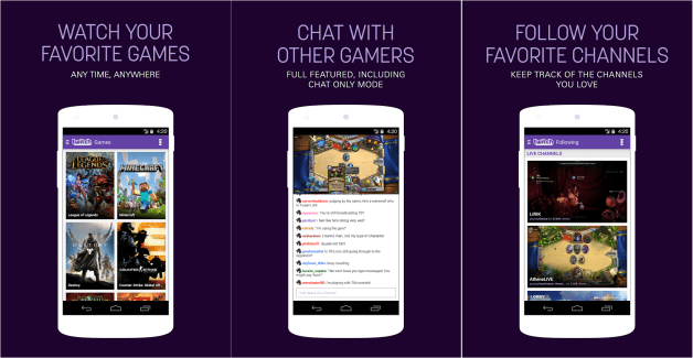 L'application Twitch se refait une beauté et passe en version 3.0